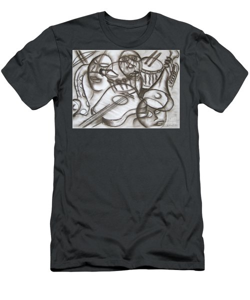 Music Dreams And Illusions Men's T-Shirt (Athletic Fit)