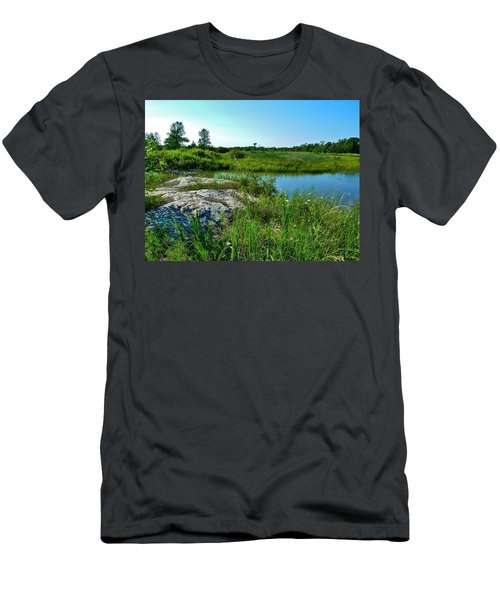 Muskoka Ontario 4 Men's T-Shirt (Athletic Fit)
