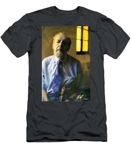 Men's T-Shirt (Slim Fit) featuring the photograph My Beautiful Friend by Lenore Senior