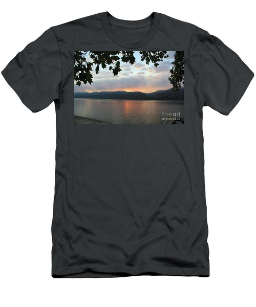 My Birthday Sunrise Men's T-Shirt (Athletic Fit)