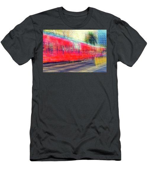 My City's Got A Trolley Men's T-Shirt (Slim Fit) by Joseph S Giacalone