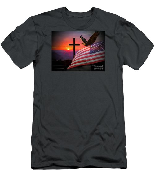 My Country Men's T-Shirt (Athletic Fit)