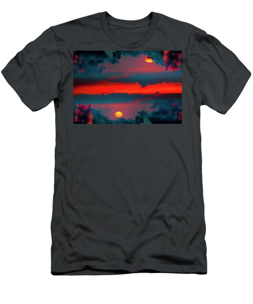 My First Sunset- Men's T-Shirt (Athletic Fit)