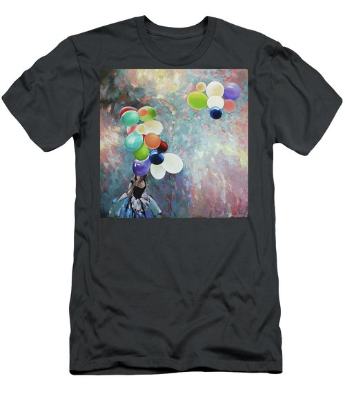 My Friend The Wind. Men's T-Shirt (Athletic Fit)