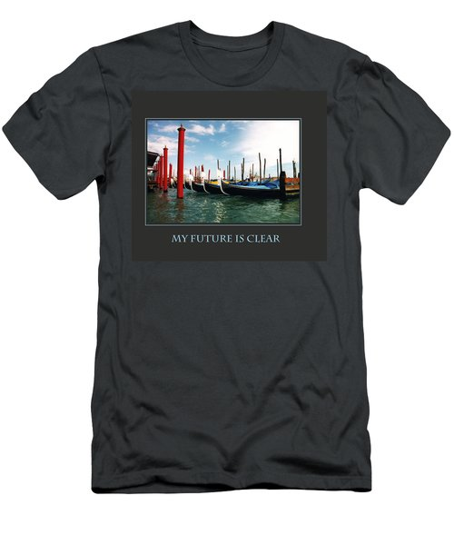 Men's T-Shirt (Slim Fit) featuring the photograph My Future Is Clear by Donna Corless