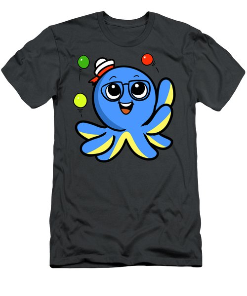 My Octopus Can Juggle Balls Men's T-Shirt (Athletic Fit)