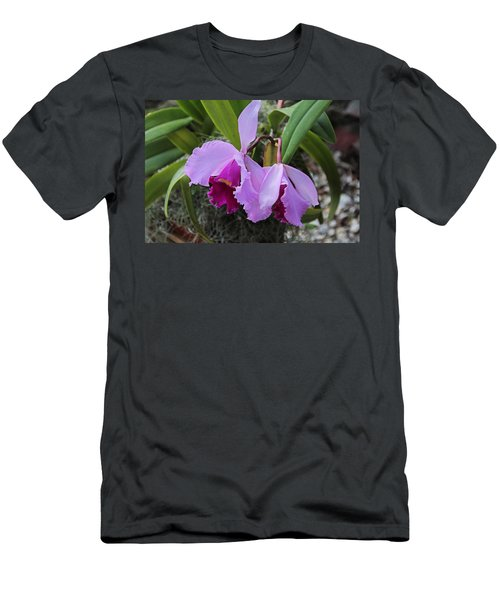 Men's T-Shirt (Athletic Fit) featuring the photograph My Orbit by Michiale Schneider