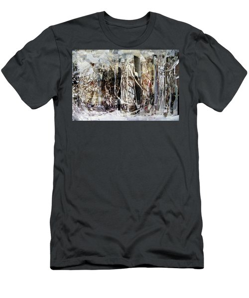 My Signature Or Yours  Men's T-Shirt (Slim Fit) by Danica Radman