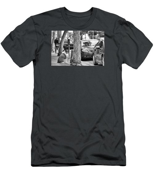 My Street, Dude Men's T-Shirt (Athletic Fit)