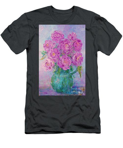 My Summer Roses Men's T-Shirt (Athletic Fit)