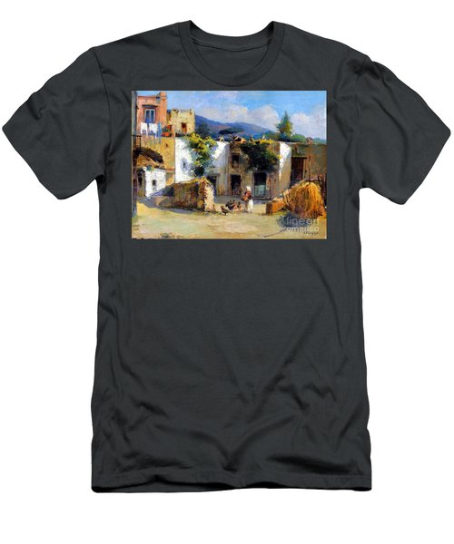My Uncle Farm House Men's T-Shirt (Athletic Fit)