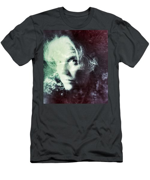 Men's T-Shirt (Athletic Fit) featuring the photograph My Vintage Self by Shelli Fitzpatrick