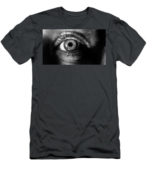 My Window In Bw Men's T-Shirt (Athletic Fit)