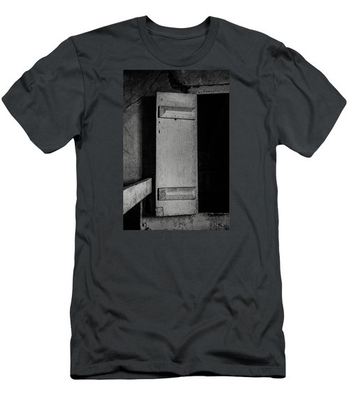 Mysterious Attic Door  Men's T-Shirt (Slim Fit) by Off The Beaten Path Photography - Andrew Alexander