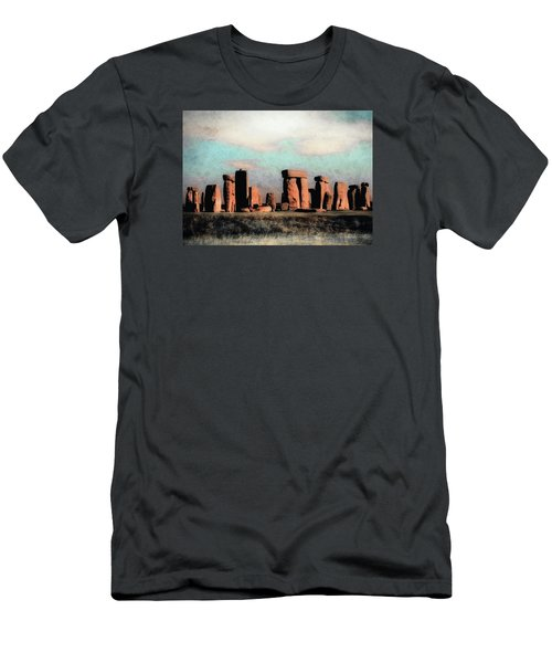 Mysterious Stonehenge Men's T-Shirt (Athletic Fit)