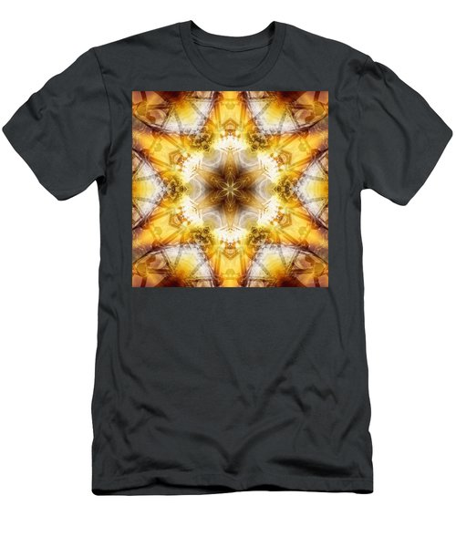 Men's T-Shirt (Athletic Fit) featuring the digital art Mystic Universe 7 Kk2 by Derek Gedney