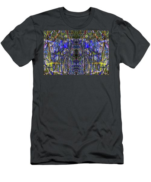 Winter Walk In The Weeds Men's T-Shirt (Athletic Fit)