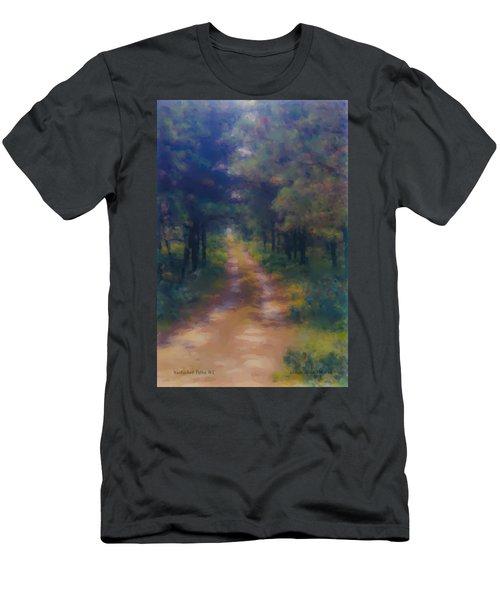 Nantucket Paths #1 Men's T-Shirt (Athletic Fit)