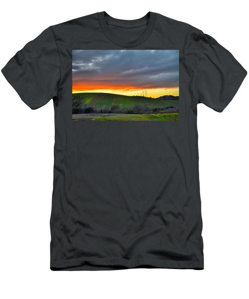 Napa Sunrise Men's T-Shirt (Athletic Fit)