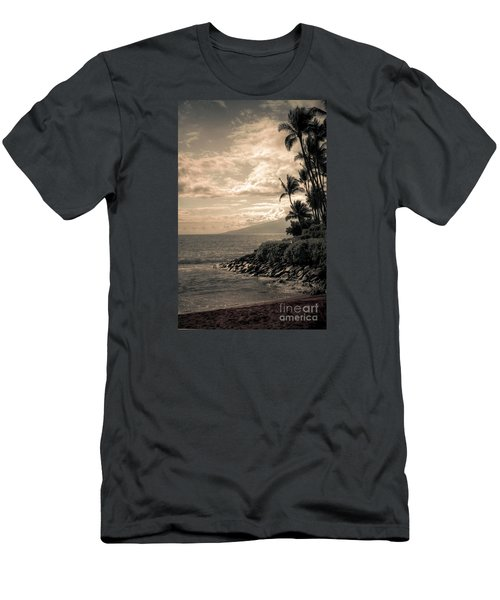 Napili Heaven Men's T-Shirt (Slim Fit) by Kelly Wade