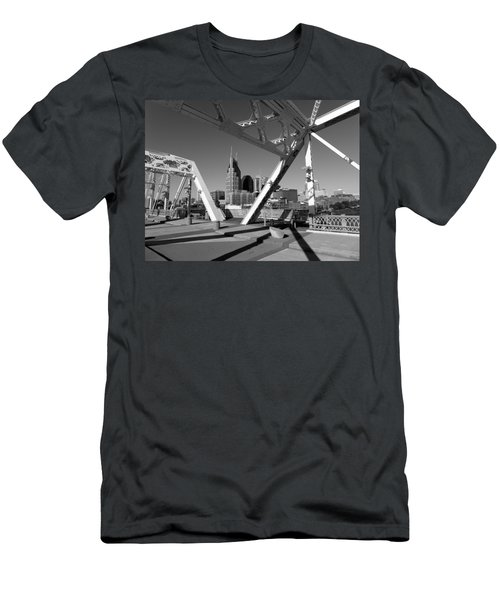 Men's T-Shirt (Athletic Fit) featuring the photograph Nashville by Keith McGill
