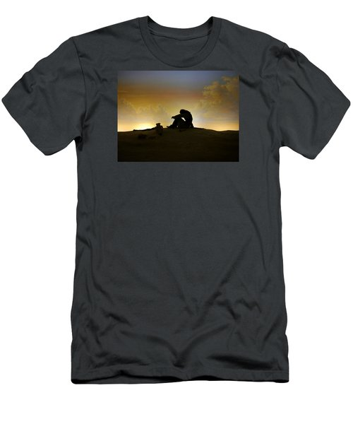 Nassau - Marooned Men's T-Shirt (Slim Fit) by Richard Reeve
