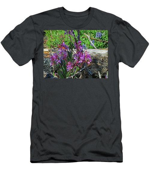 Men's T-Shirt (Athletic Fit) featuring the photograph National Parks. From The Ashes To New Life. by Ausra Huntington nee Paulauskaite