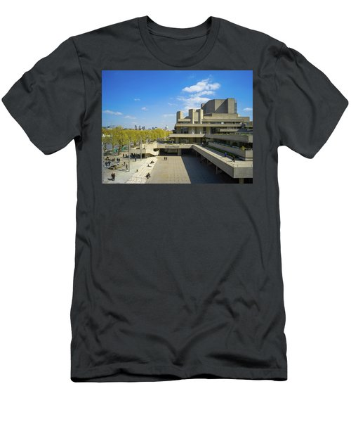 Men's T-Shirt (Athletic Fit) featuring the photograph National Theatre by Stewart Marsden