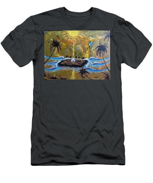 Native Sunset Dream Men's T-Shirt (Athletic Fit)