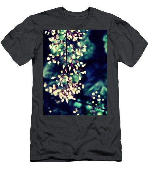 Natural Lace 2 Men's T-Shirt (Slim Fit) by Sarah Loft