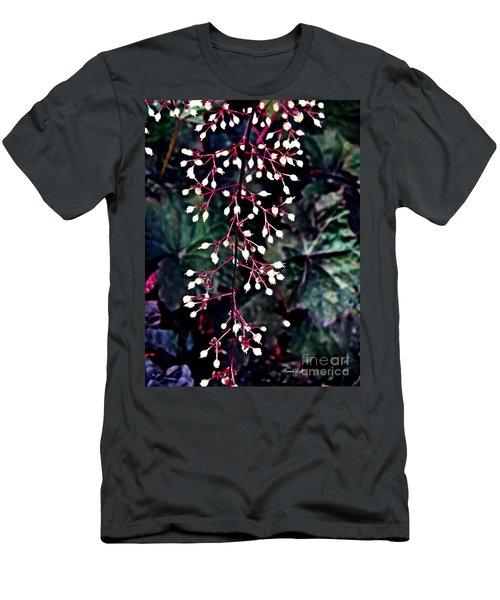 Natural Lace Men's T-Shirt (Slim Fit) by Sarah Loft