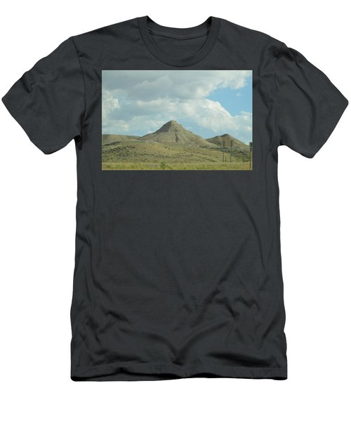 Natural Pyramid Men's T-Shirt (Athletic Fit)