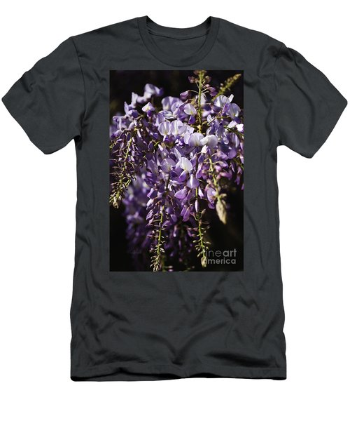Natural Wisteria Bouquet Men's T-Shirt (Athletic Fit)