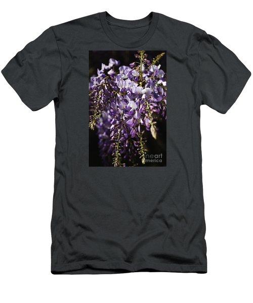 Natural Wisteria Bouquet Men's T-Shirt (Athletic Fit)