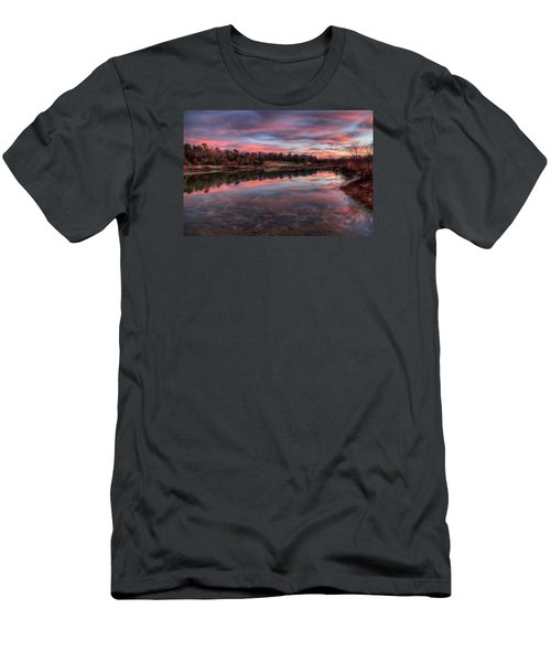 Nature Reserved Men's T-Shirt (Slim Fit) by John Loreaux