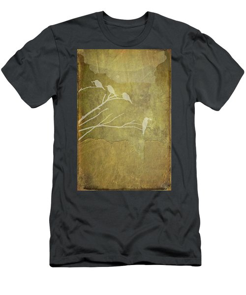 Nature Study In Gold  Men's T-Shirt (Athletic Fit)