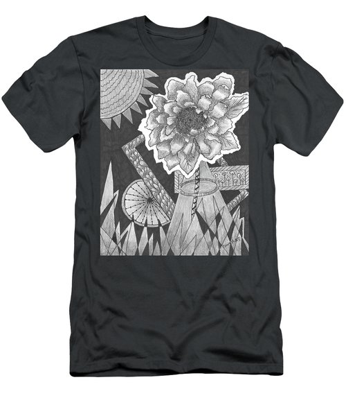 Naturemade And Manmade Shapes Men's T-Shirt (Athletic Fit)