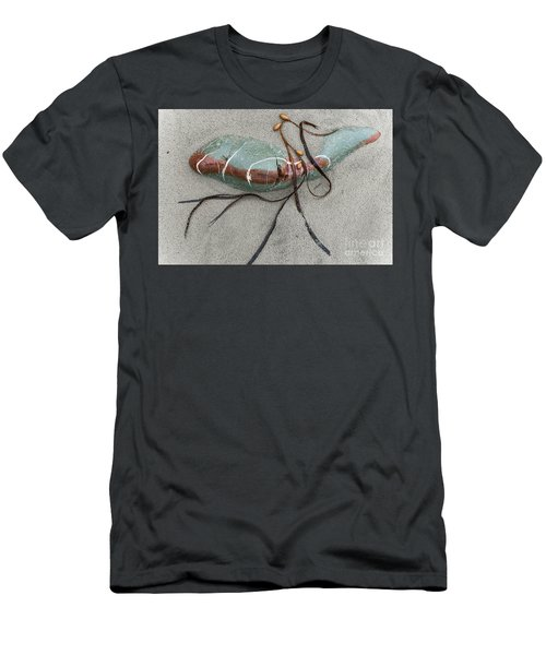 Men's T-Shirt (Slim Fit) featuring the photograph Nature's Art by Werner Padarin