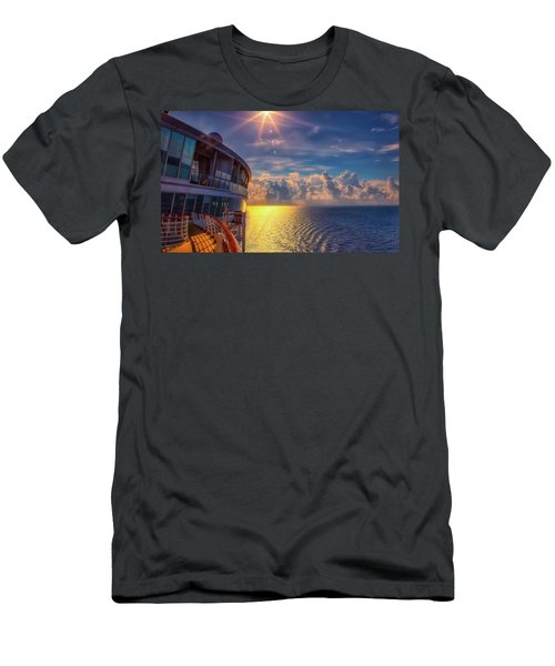 Natures Beauty At Sea Men's T-Shirt (Athletic Fit)