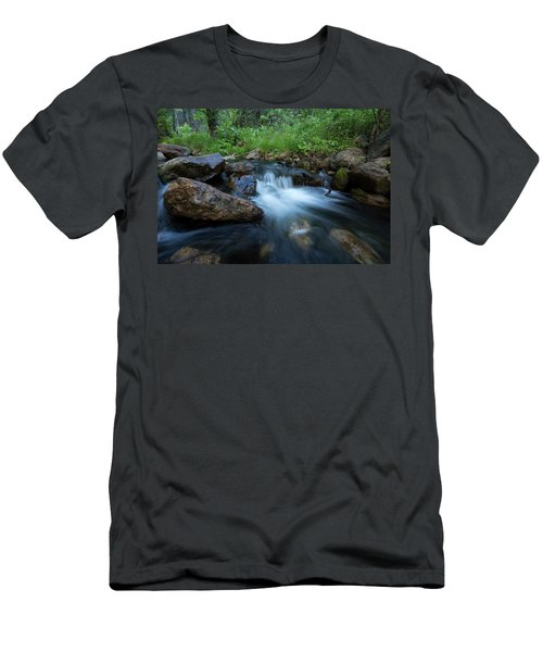 Nature's Harmony Men's T-Shirt (Slim Fit) by Sue Cullumber