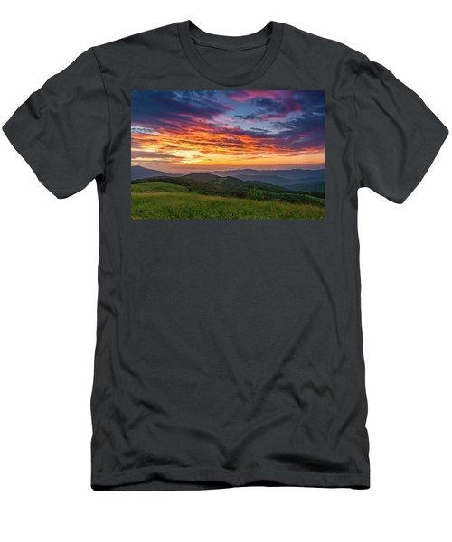 Nc Mts Sunrise Men's T-Shirt (Athletic Fit)