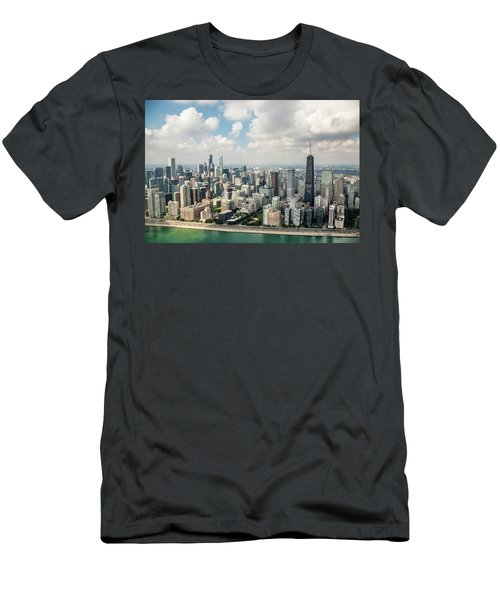 Near North Side And Gold Coast Men's T-Shirt (Athletic Fit)