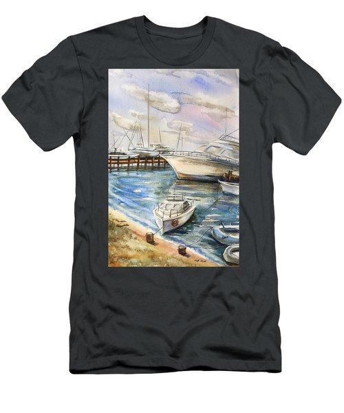 Near The Harbour 2 Men's T-Shirt (Athletic Fit)