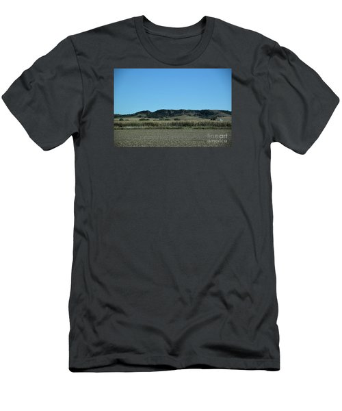 Nebraska Corn Field Men's T-Shirt (Slim Fit) by Mark McReynolds