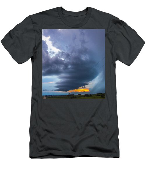Nebraska Supercell 025 Men's T-Shirt (Athletic Fit)