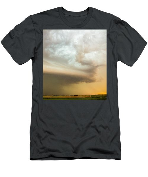 Nebraska Thunderstorm Eye Candy 005 Men's T-Shirt (Athletic Fit)