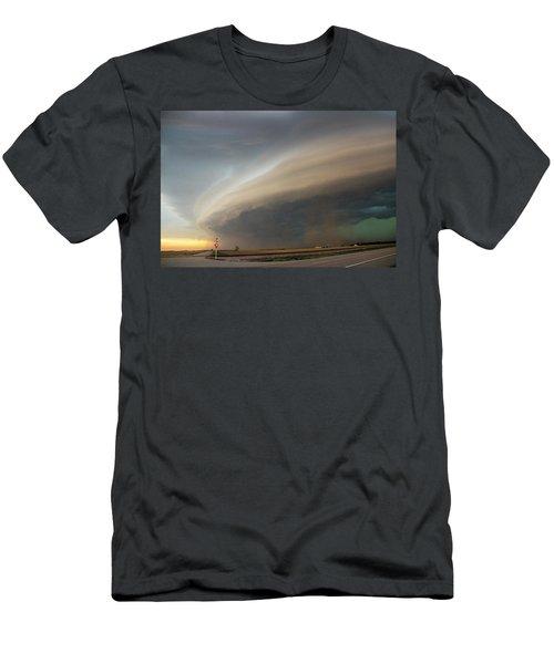 Nebraska Thunderstorm Eye Candy 026 Men's T-Shirt (Athletic Fit)