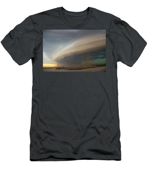 Nebraska Thunderstorm Eye Candy 026 Men's T-Shirt (Athletic Fit)