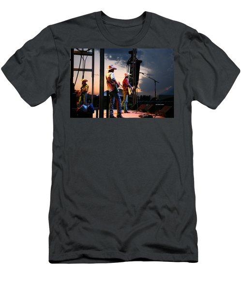 Ned Ledoux In Concert Men's T-Shirt (Athletic Fit)