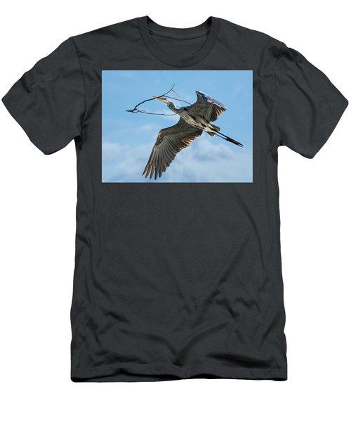 Nest Builder Men's T-Shirt (Athletic Fit)